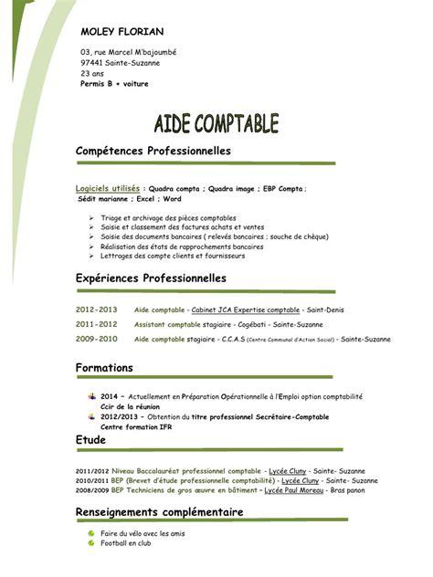 modèle de cv secrétaire comptable moley florian cv type 2 copie pdf par f113031 fichier pdf