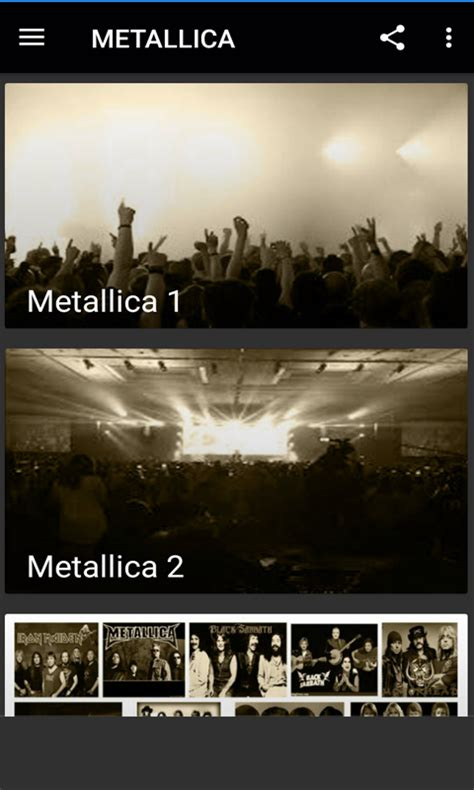 the best of metallica free the best of metallica apk for android getjar