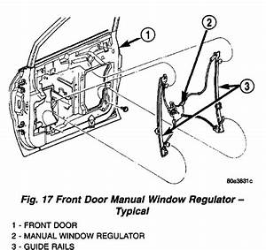 Step By Step Procedure To Remove Drivers Door Inner Panel