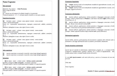 Modelli Curriculum Vitae Con Esempi, Da Scaricare E. Application For Employment Guidelines. Christmas Letter Word Template Free. Cover Letter Template Text. Cover Letter Examples For Resume Human Resources. Objective For Resume Data Analyst. Application For Employment At Lowes. Generic Cover Letter High School Student. Resume Cv Download