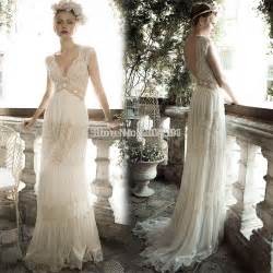boho dresses wedding boho hippie bohemian style wedding dress v neck chiffon wedding gown 2015 married