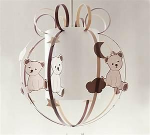 Luminaire Chambre Fille : luminaire chambre bb ours fabrique casse noisette ~ Preciouscoupons.com Idées de Décoration