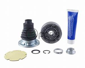 Inner Cv Joint And Boot Kit  Metelli   A5 Brm Manual