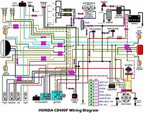 Honda Cb400f Wiring Diagram  U2013 Circuit Wiring Diagrams