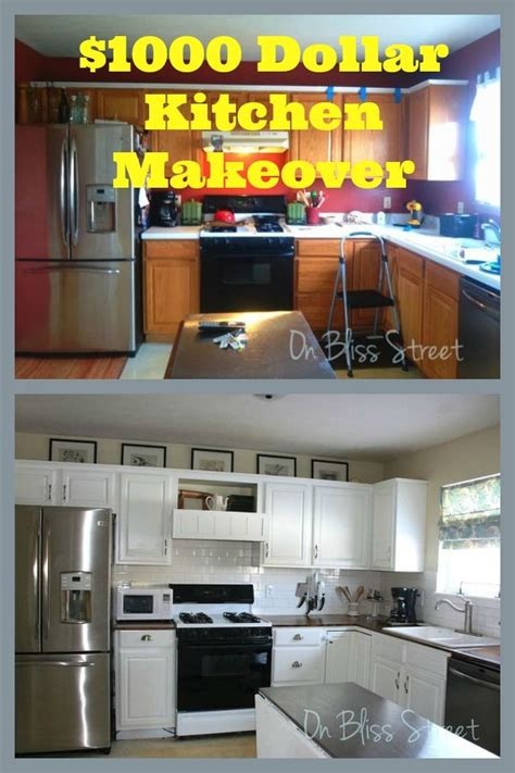 awesome kitchen transformation    cheap