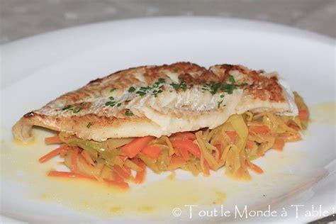 cuisiner filet de julienne filet d 233 glefin sauce 224 l orange et sa julienne de l 233 gumes