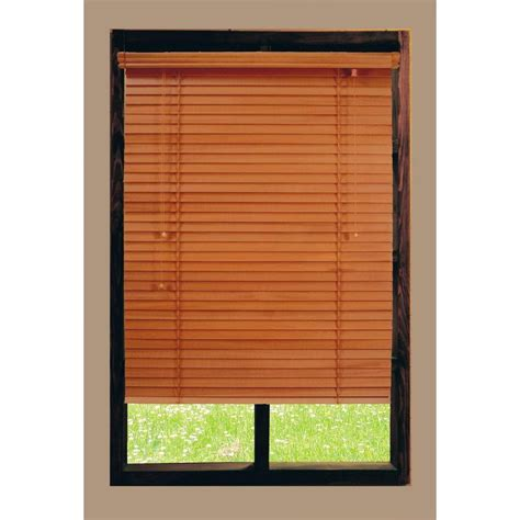 home decorators collection golden oak 2 in basswood blind