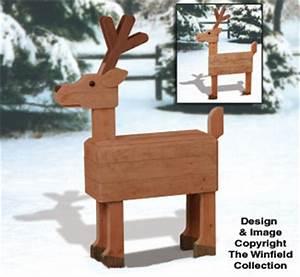 Reindeer & Sleighs Pallet Wood Deer Plan