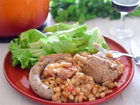 recette cuisine express recettes de cassoulet et cuisine express