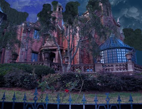 Haunted Mansion Background By Wdwparksgal-stock On Deviantart