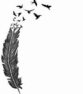 Dessin De Plume Facile : photo dessin tatouage plume ~ Melissatoandfro.com Idées de Décoration