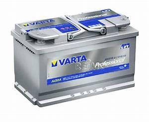 Batterie Agm Camping Car : varta professional agm batterien m81342 ~ Medecine-chirurgie-esthetiques.com Avis de Voitures