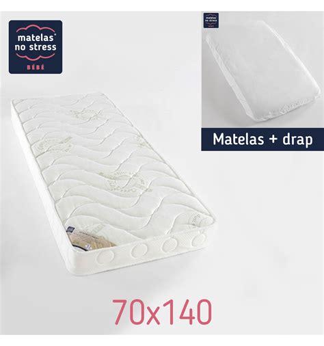 Matelas Enfant 70x140 by Matelas 70x140 Confort Anti Acariens Et Drap Housse