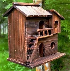 Cute DIY Ideas for Birdhouses DIY Motive