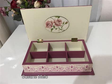 cajas de madera decoradas vintage pinterest