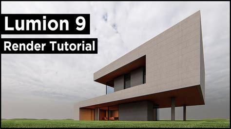 Lumion 9 Pro Modern Architecture Render Tutorial