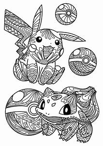 Unique Mandala Coloring Pages Pokemon Collection