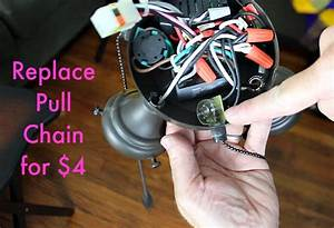 Ceiling Fan Light Repair  Save  90 In 10 Minutes