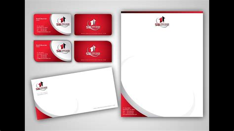 how to make business card letterhead business envelope