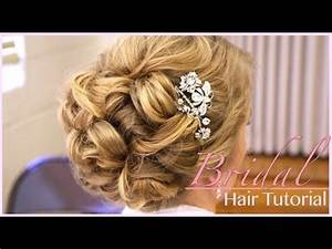 Classic Bridal Updo Hair Style Tutorial
