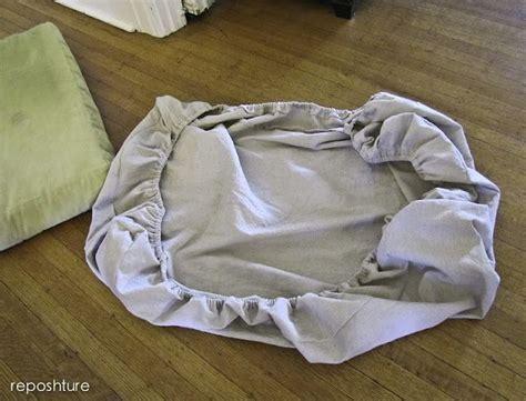 easy elastic cushion cover      diy