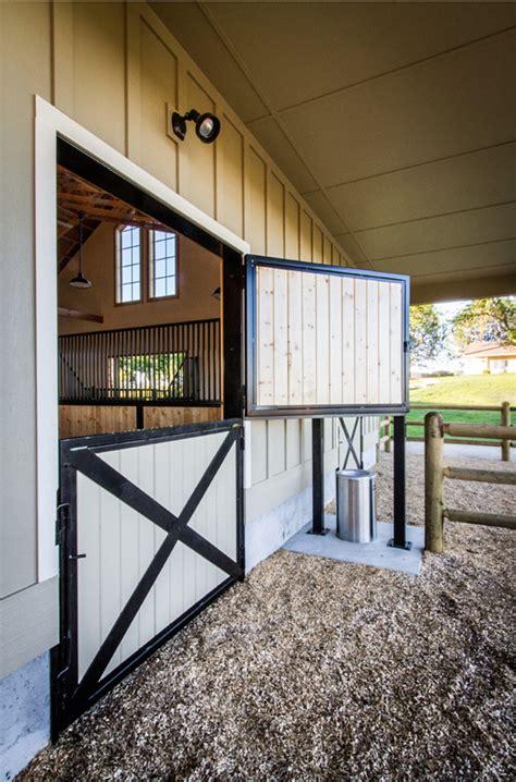stable style impressive  stall barn horses heels