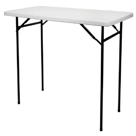table mange debout pliante rectangulaire l 152 cm h 110 cm francky shop