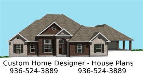 Home Design Plans Houston by House Plans Houston Home Conroe House Designer