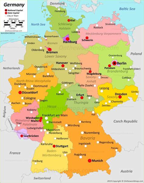 Germany Maps Maps Of Germany