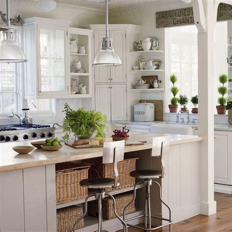 Cottage kitchen, antique sign, marble, subway tile, large