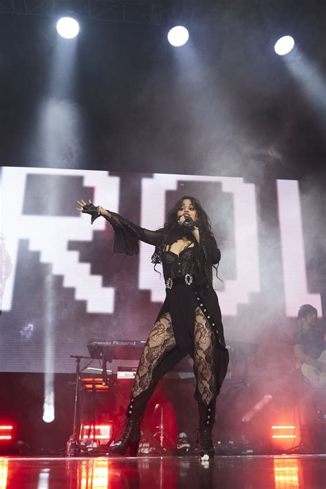 Camila Cabello Performing Wizink Center Madrid