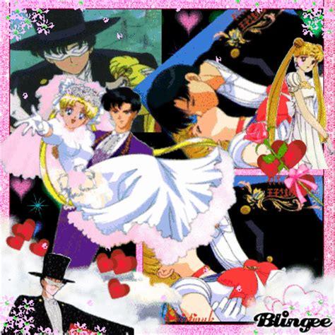 Sailor Moon Picture 135302587 Blingee Sailor Moon And Tuxedo Mask Fotografía 73622012