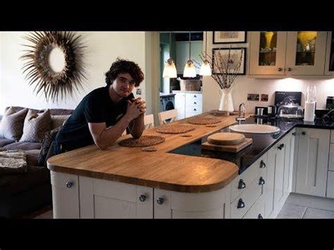 Refinishing A Kitchen Worktop  Youtube