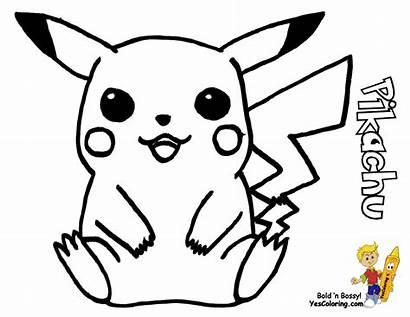Pokemon Starter Pikachu Beginners Printable Advanced Yescoloring