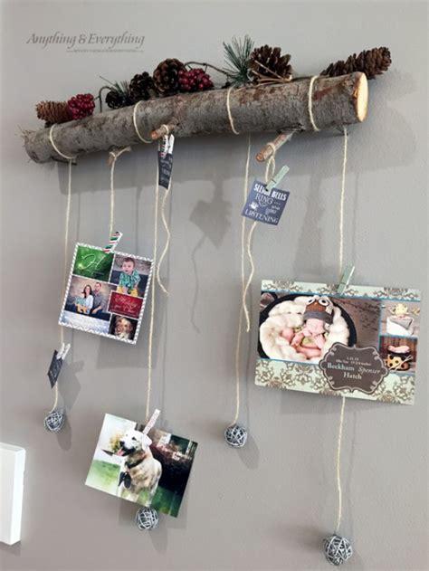 diy christmas card holder  display ideas landeelucom
