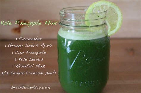 juice recipes kale beginners smoothie juicing recipe juicer apple pineapple cucumber celery mint healthy easy diet benefits spinach drink lemon