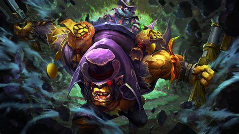 darkbrew enforcer alchemist dota  game wallpaper hd
