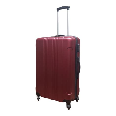 grote abs l castillo abs koffer rio l rood luggage 4 all