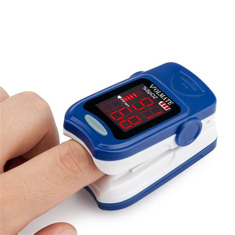 Pulse Oximeter Finger Tip Pulse Blood Oxygen SpO2 Monitor
