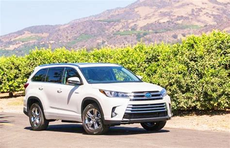 2019 Toyota Highlander Suv Hybrid Limited V6 Review