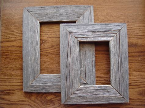 barn wood picture frames quot rustic quot wood picture frame reclaimed barnwood new