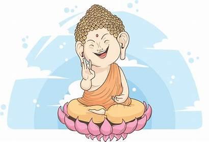 Buddha Meditation Cartoon Clipart Illustration Transparent Thai