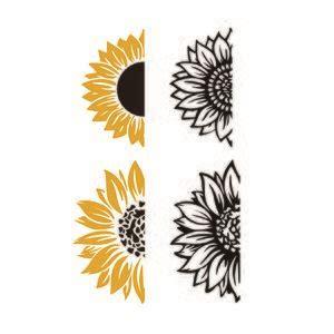 sunflower svg cuttable design