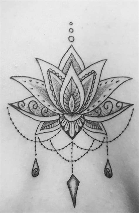 20+ Most Beautiful Lotus Tattoo Designs 2019 - Page 21 of