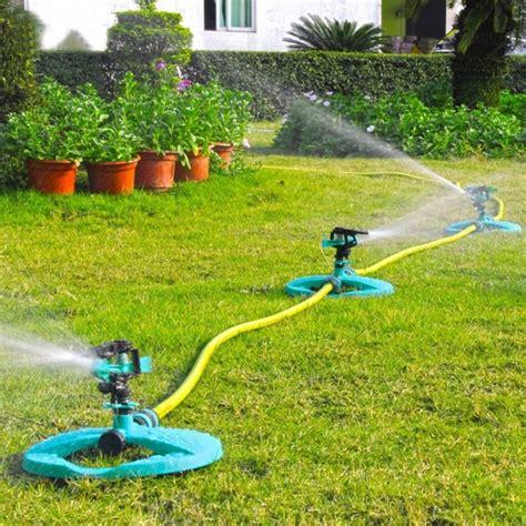 water sprinkler system impulse range sprinklers