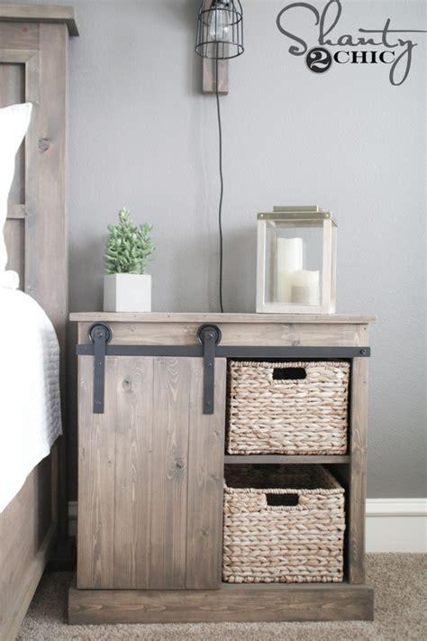 best way to keep furniture from sliding on wood floors sliding barn door nightstand diy shanty 2 chic