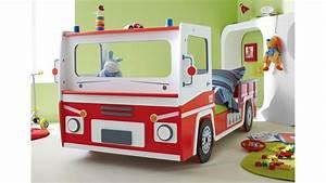 Kinderbett 90x200 Auto : feuerwehrauto sos kinderbett feuerwehrbett rot und wei ~ Whattoseeinmadrid.com Haus und Dekorationen