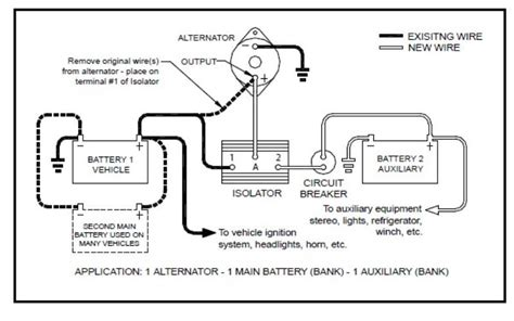 Sure Power Battery Isolator Wiring Diagram by How To Wire Up A Sure Power 120 Two Battery Isolator
