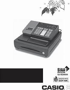 Casio Cash Register Se