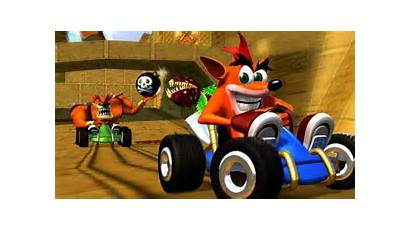Crash Racing Team Ps1 Title